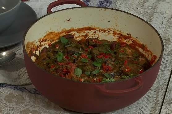 Рецепт греческой овощной мусаки для Великого поста