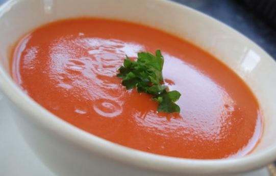 Рецепт томатного супа-пюре для поста