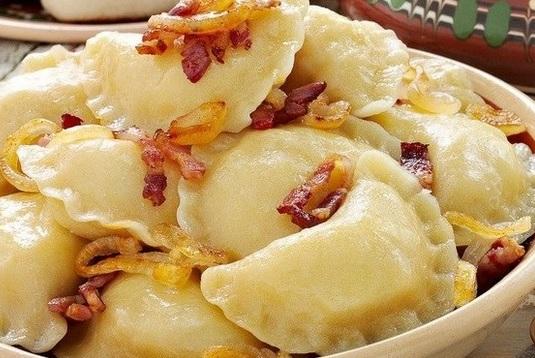 Рецепт вареников с картофельной начинкой для поста