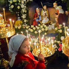 Свеча в православном храме