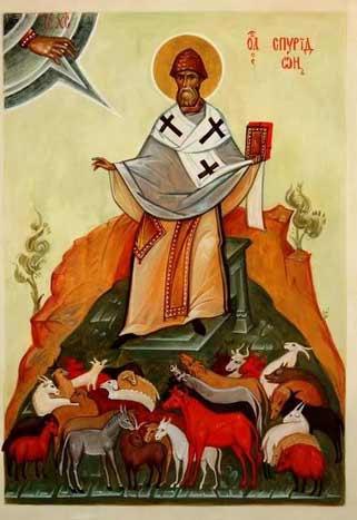 Епископ Спиридон Тримифунтский - сила в молитве