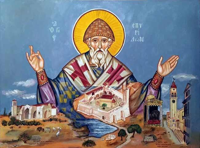Житие и молитвы Спиридона Тримифунтского