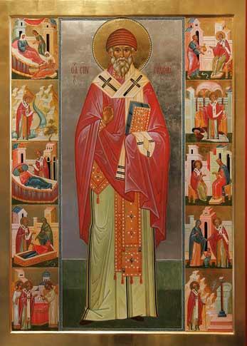 Спиридон Тримифунтский помогает через молитву