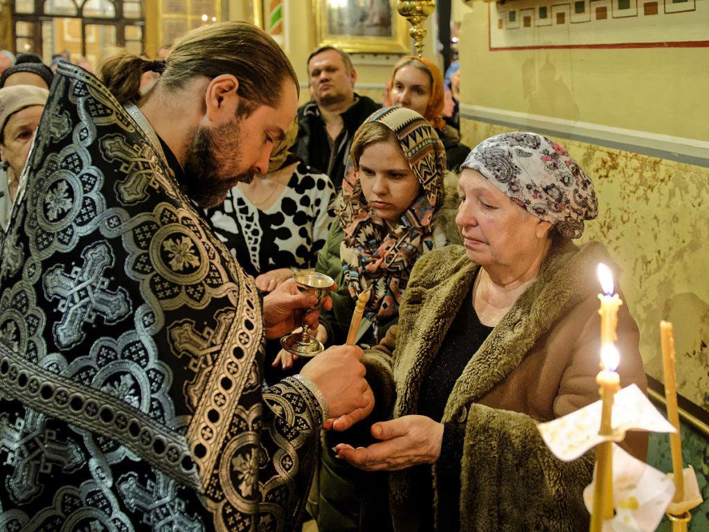 Как проходит Соборование в церкви в Великий пост