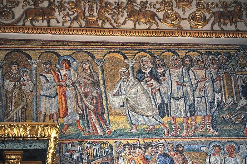 Икона Сререние Господне а Санта Мария Маджоре