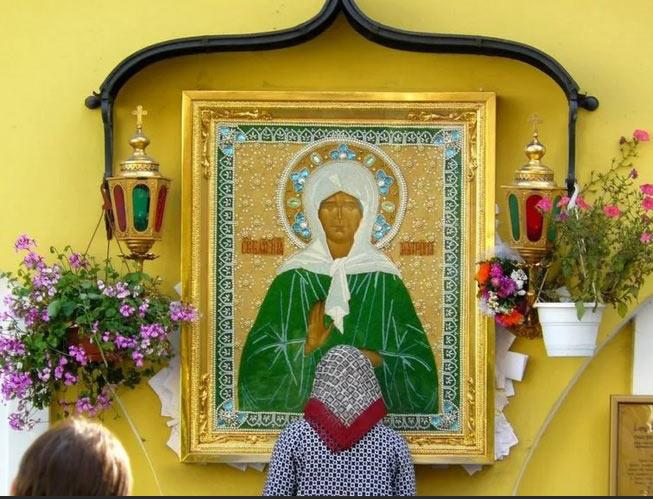 Сила молитвы Матроне Московской