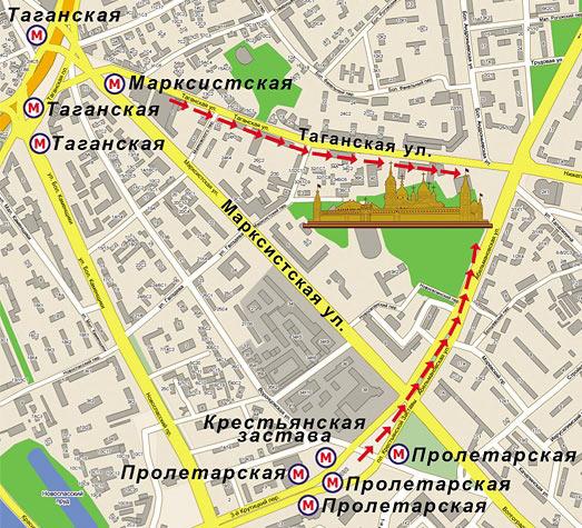 Где находятся мощи Матроны Московской, все варианты проезда